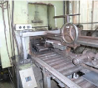 Production line of laminated spring